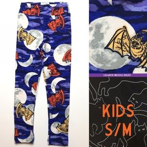 LuLaRoe KIDS size s/m Halloween Leggings New